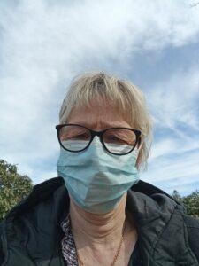 konstrundan med munskydd